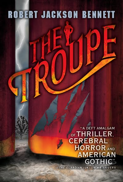 The Troupe book cover